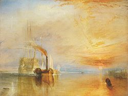Turner, J. M. W. - The Fighting Téméraire tugged to her last Berth to be broken.jpg